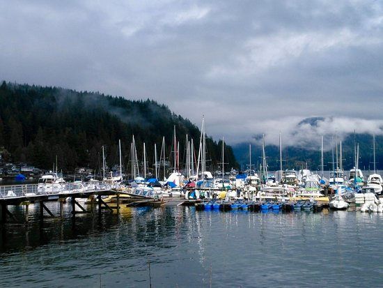 The lovely Deep Cove in North Vancouver.BC