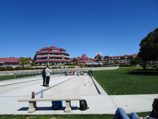 Dana Point, CA: Bocce Ball court