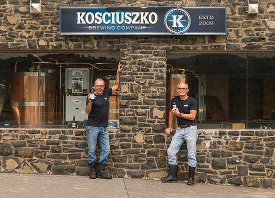 Jindabyne, Australien: Home to the Kosciuszko Brewery