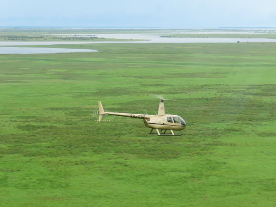 Airborne Solutions: Wetlands Wilderness Experience - Woolner Station