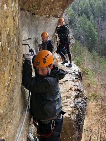 Campton, KY: via ferrata