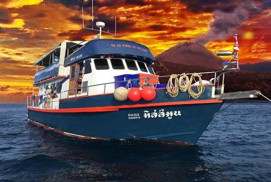 Ranong, Tailandia: MV. Miss Moon