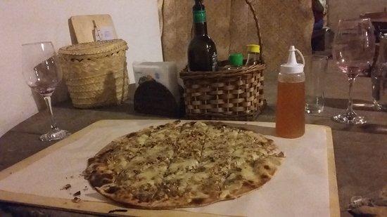 Pizza Capao Grande: Pizza doce