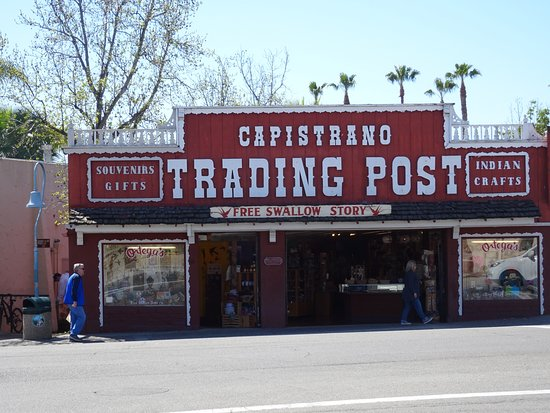 San Juan Capistrano, CA: Right across from the Mission