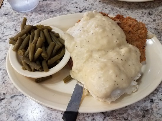 Checotah, Oklahoma: Chicken Fried Steak