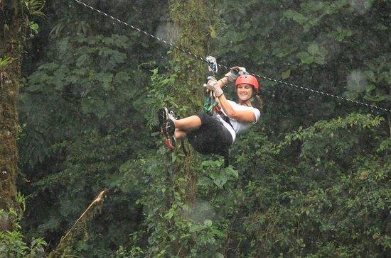 Canopy Day Trip Adventure i Monteverde