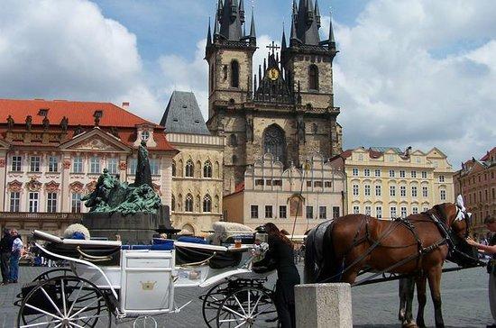 Visite à pied de Prague (vieille...