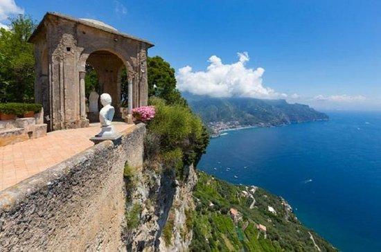 Villa Cimbrone i Ravello og Pompei
