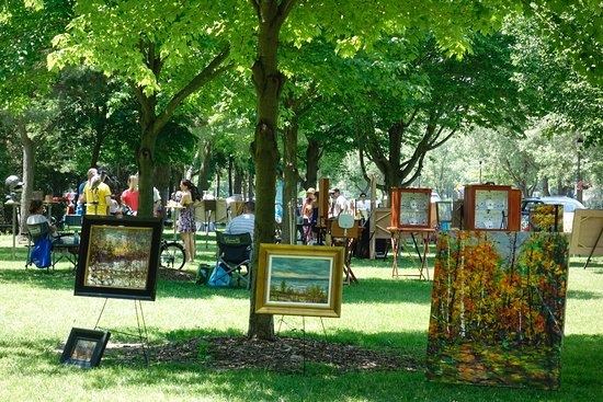 Stratford Art in the Park