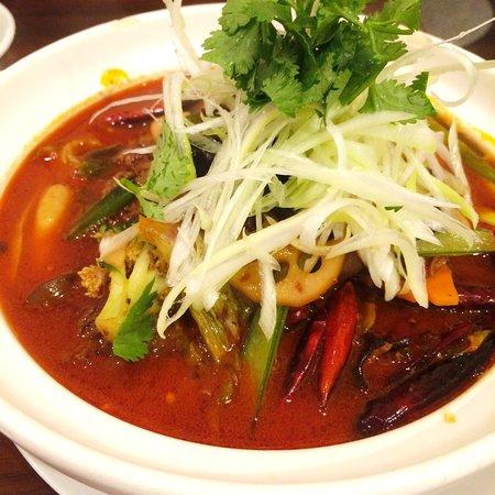 Dogenro Sichuan Xiaochi: 牛肉麺1