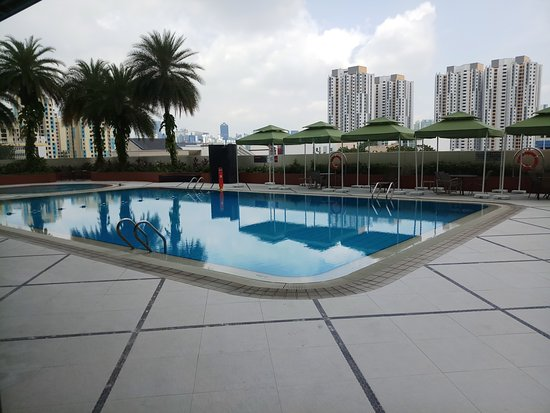 The Swimming Pool And Gymnasium Picture Of Parkroyal On Kitchener Road Singapore Tripadvisor