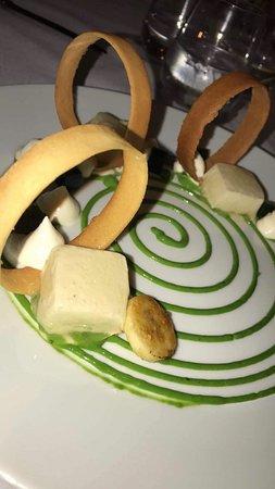 Maison Bleue Restaurant: Caramelised Banana