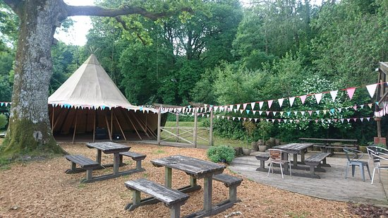 tipi for hire for your private occasion picture of yurtcamp devon liverton tripadvisor. Black Bedroom Furniture Sets. Home Design Ideas