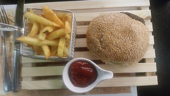 National Hotel Jerusalem: ... kleiner leckerer Snack ...