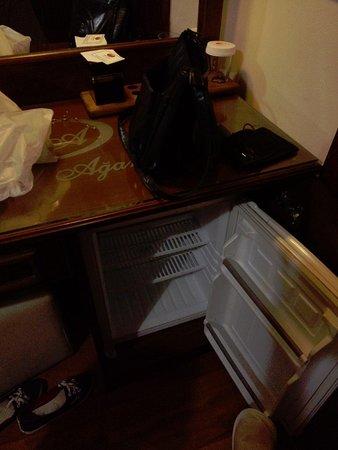 Hotel Agan: refrigirateur tres sale