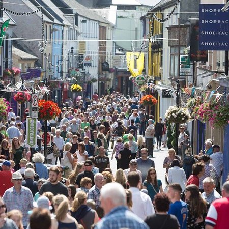 Ennis 4km from  The Hotel during The Fleadh