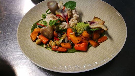 Waimes, Belgium: Risotto aux légumes de saison