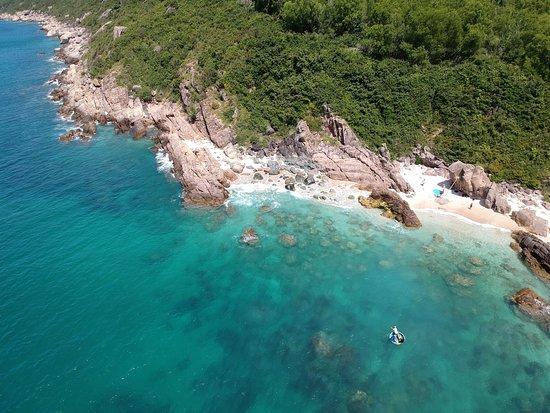 Song Cau Town, Βιετνάμ: Die Küste in der Nähe des Timothe Beach Bungalows