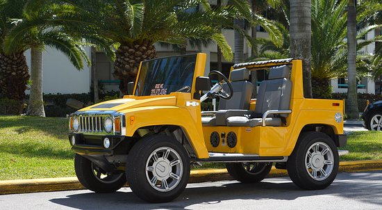 Mini Hummer Available For By Scooters South Beach
