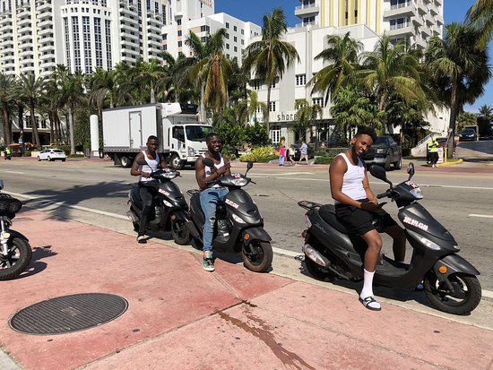 Scooters Available For By South Beach