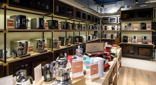 Tout l'univers du café dans une boutique - Picture of ...