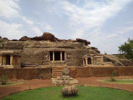 Badami, India: Ravana Phadi Aihole