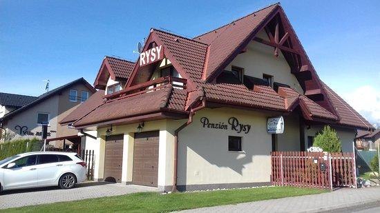 Velka Lomnica, Słowacja: Penzion Rysy
