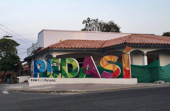 Pedasi Sports Club: Pedasi town center