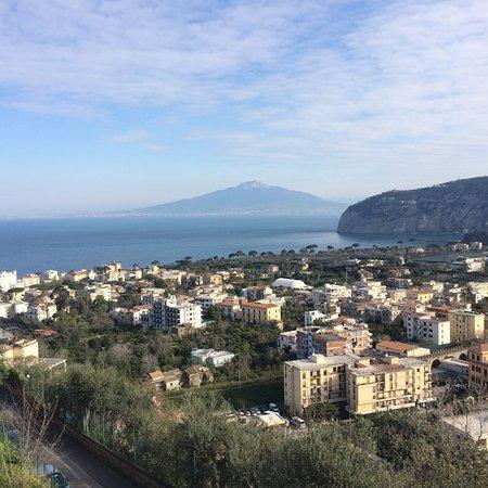 Art Hotel Gran Paradiso: Blick zum Vesuv