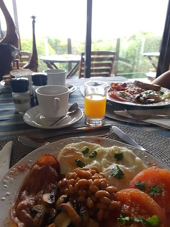 Swallow's Nest Bed and Breakfast: Freshly cooked breakfast on order each day