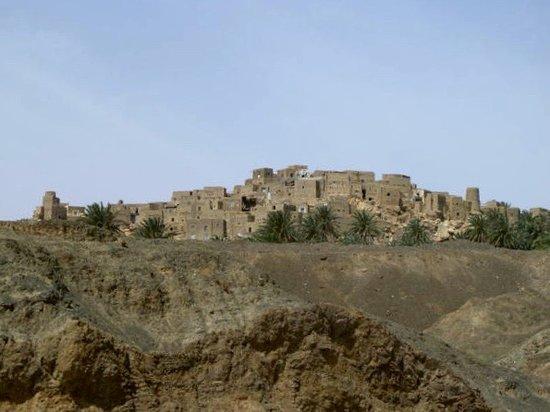 South Khorasan Province, إيران: Nayband perched high above
