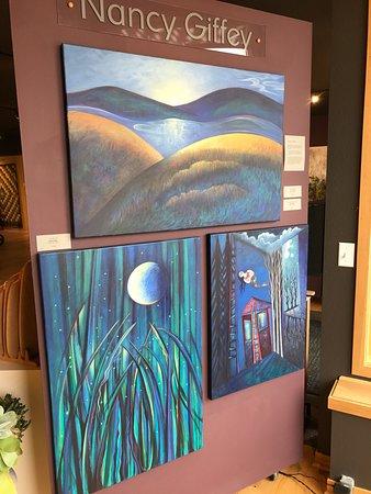 Prairie du Sac, วิสคอนซิน: Artist Nancy Giffey