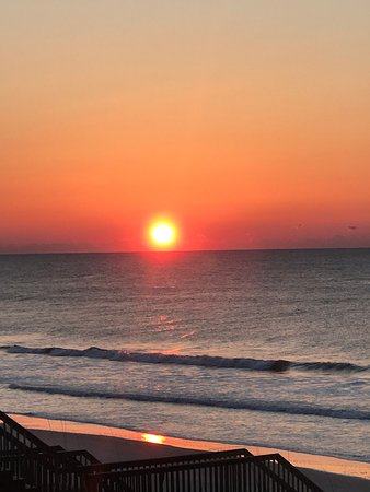 North Topsail Beach, NC: Sunrise from master bedroom window
