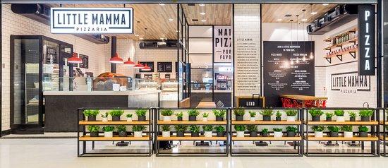 Little Mamma Pizzaria - Shopping Nova América: (Luciano Mendes)