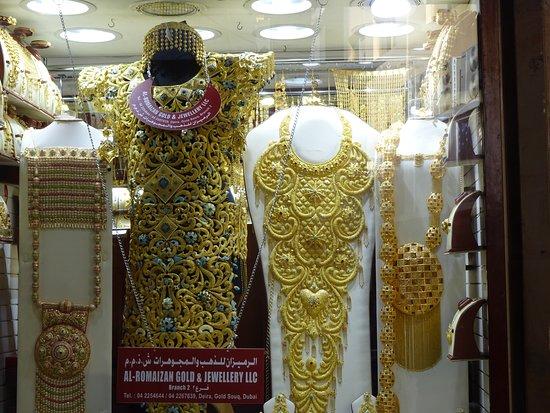 Dubai Gold Souk: Sukienka
