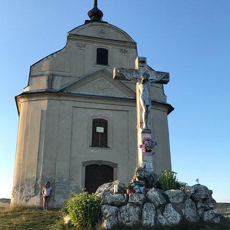 Siva Brada: Národná prírodná rezervácia Sivá brada je travertínová kopa s genzírom a barokovou kaplnkou sv.K