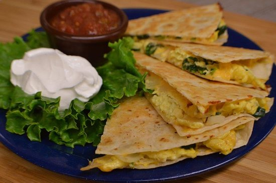 Middleboro, MA: Breakfast Quesadilla