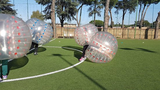calcio bolla roma bubble football ローマ calcio bolla roma