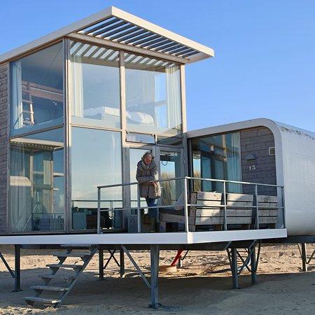 Mooiste (slaap) strandhuisjes van Nederland