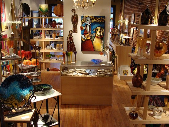 We Offer A Vast Collection Of Contemporary Paintings Sculpture Art Glass Jewelry Picture Of Taylor Kinzel Gallery Roswell Tripadvisor