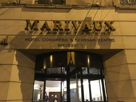 Marivaux Hotel: Hotel Haupteingang