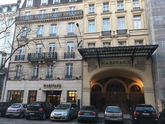 Marivaux Hotel: Aussenansicht des Hotels