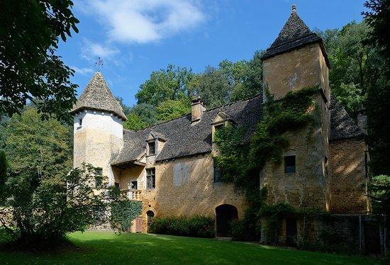 Saint-Crepin-et-Carlucet, Frankreich: Façade du Chateau