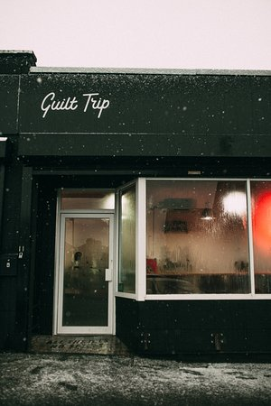 A Snowy Day In East Belfast Picture Of Guilt Trip Coffee