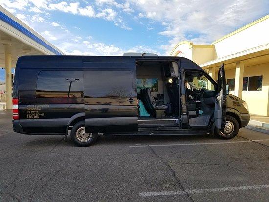 Mercedes Tour Van >> Mercedes Touring Van Picture Of The Grand Canyon Tour