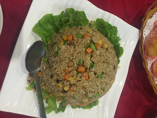 Foo Yau Yuan Vegetarian Restaurant: awesome fried rice