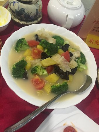 Foo Yau Yuan Vegetarian Restaurant: veg curry