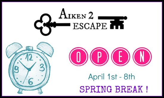 Aiken, Южная Каролина: We have extended hours for Spring Break 2018! Check out our available dates and times on our web