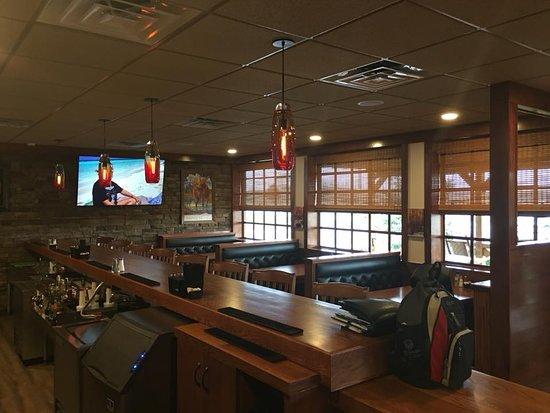 Rustburg, Virginie : Seating in bar area