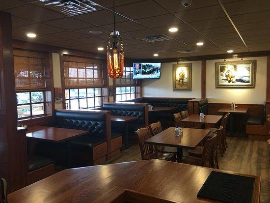 Rustburg, Virginie : New dining area